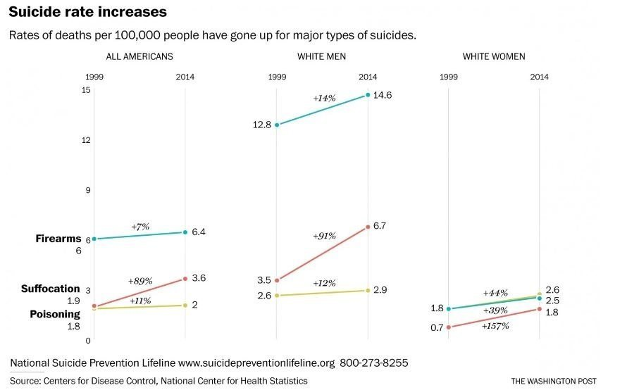 Suicide Rate Graph