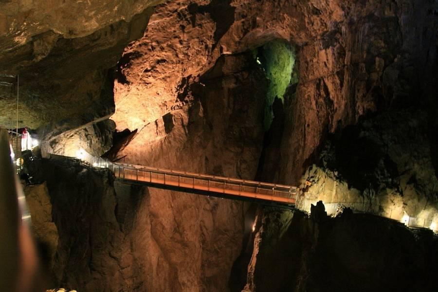 Worlds Unique Caves Skocjan