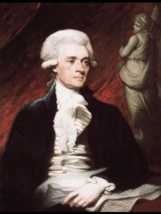 Young Thomas Jefferson
