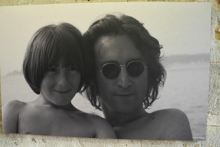 Julian And John Lennon