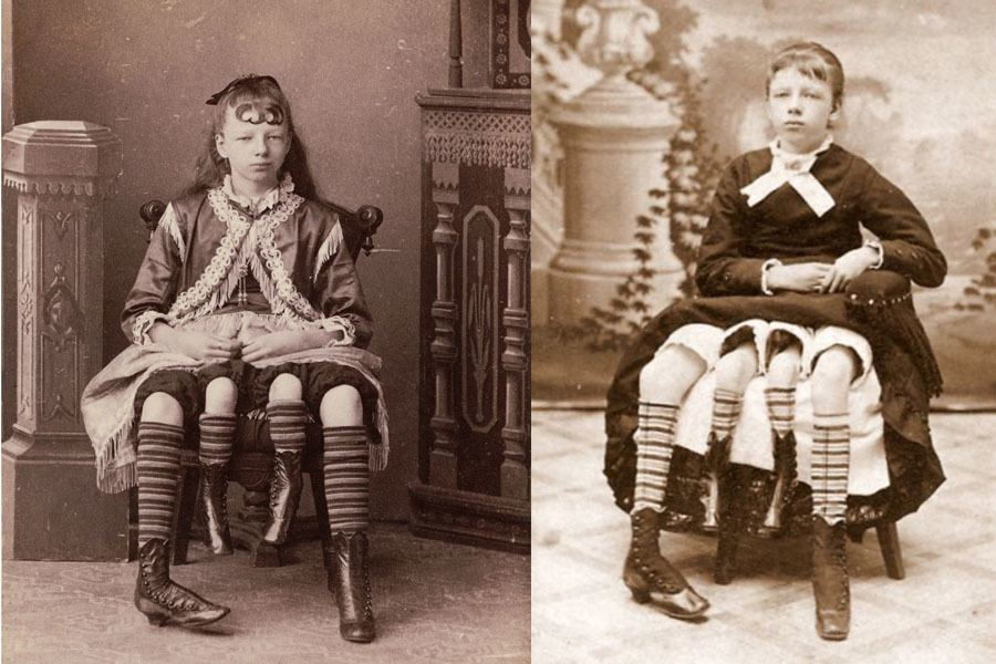 Logically correctly Circus midgets 1800 s theme, very