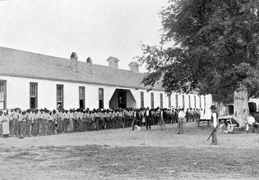 Angola Prison In 1901