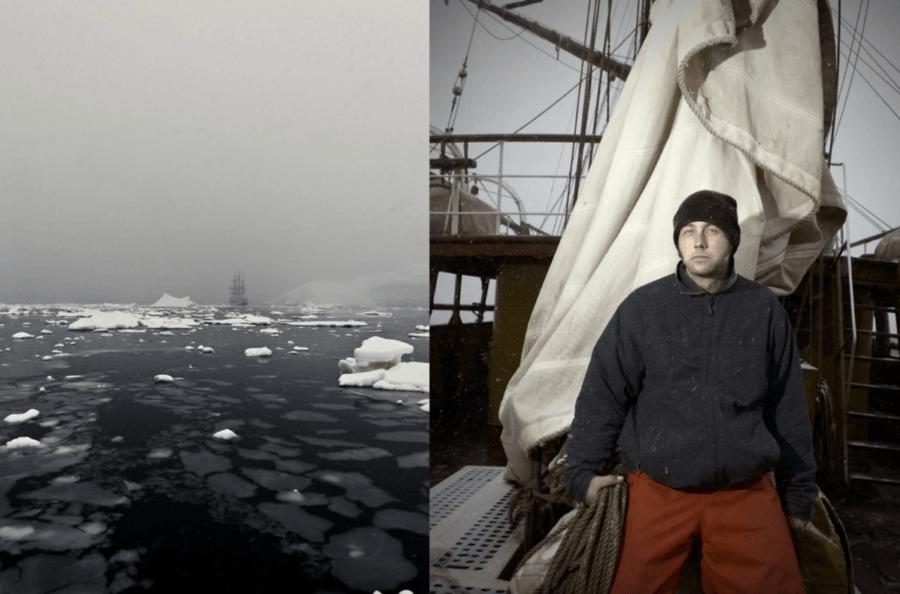 Antarctica Sailing Ship