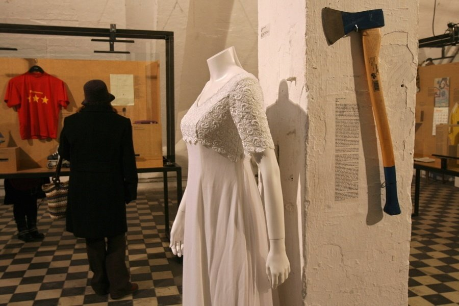 Axe Wedding Dress