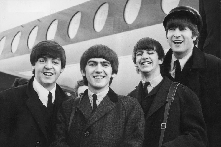 Beatles Smiling