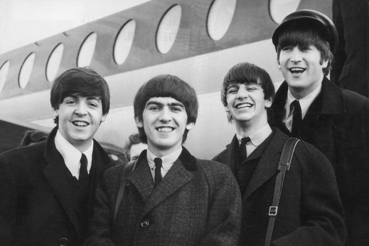Beatles Smiling