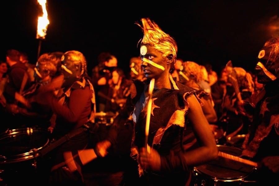Black Paint Beltane Fire Festival