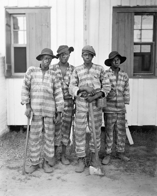 Chain Gang In 1903