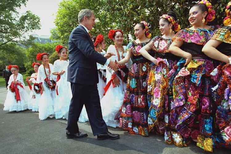 Cinco De Mayo President Bush