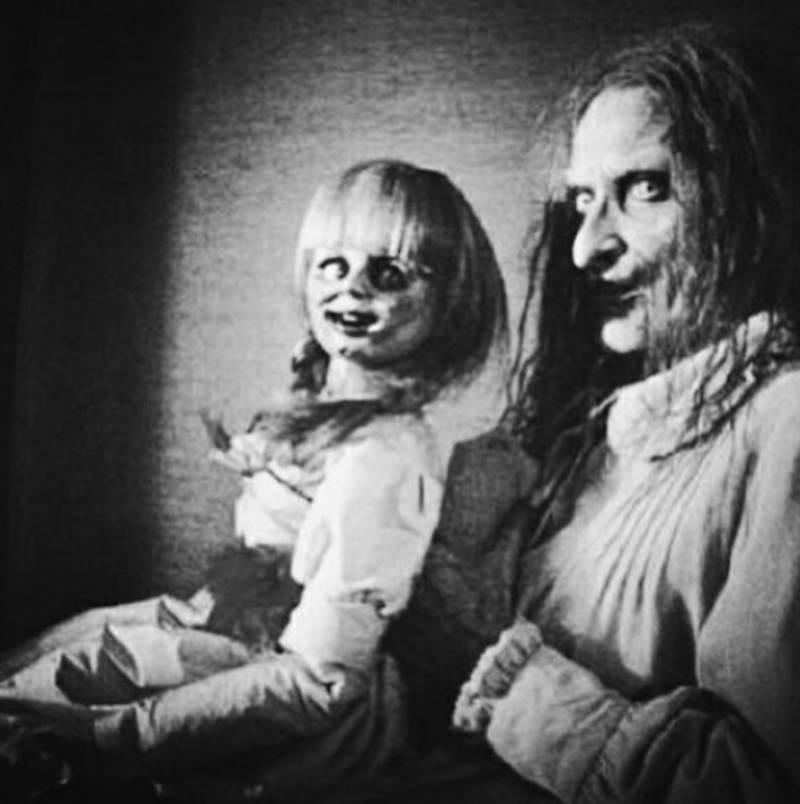 Creepy Vintage Doll