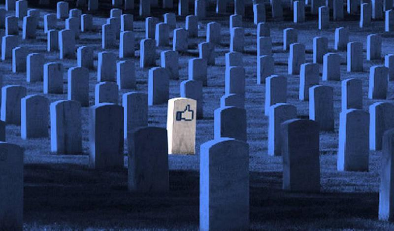 Death Online Headstone Like