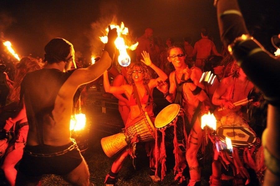 Drummers Beltane Fire Festival