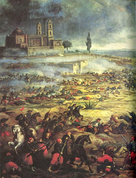 El Dia De La Batella De Puebla