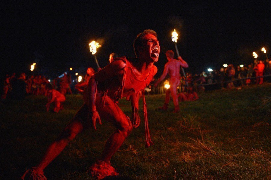 Fire Dancer Beltane Fire Festival