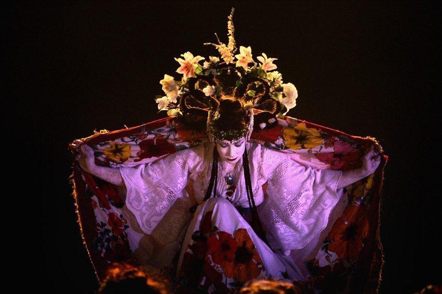 Flower Goddess Beltane Fire Festival