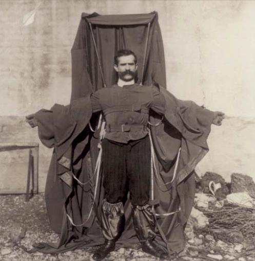 Franz Reichelt Parachute