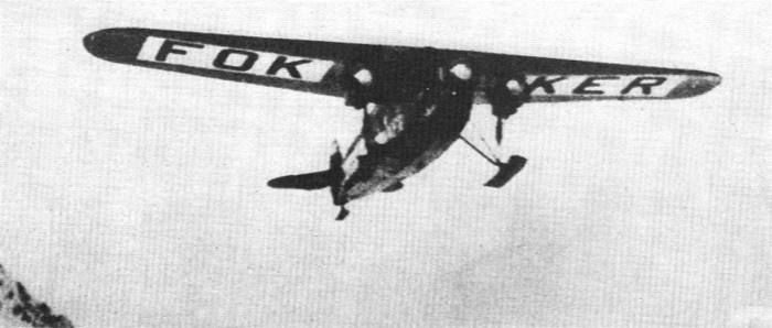 Fokker Plane