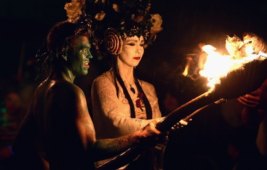 Green Man Beltane Fire Festival