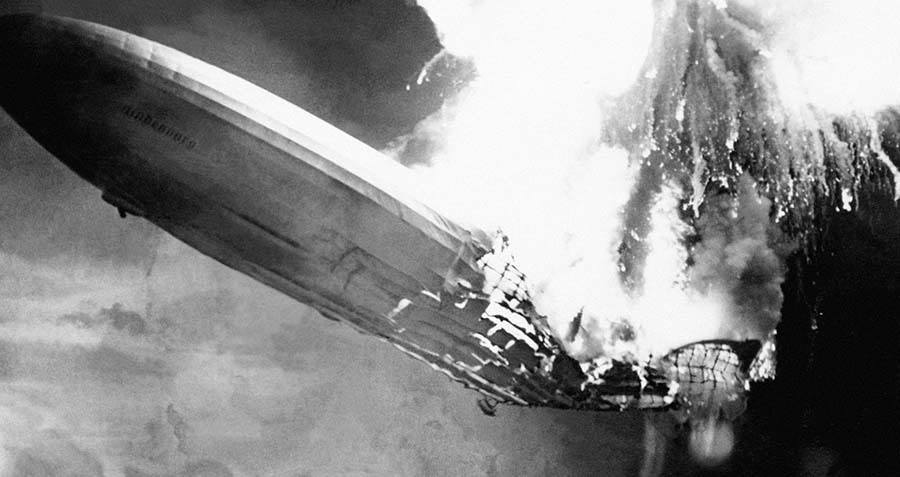 Watch The Hindenburg Disaster Unfold Before Your Eyes