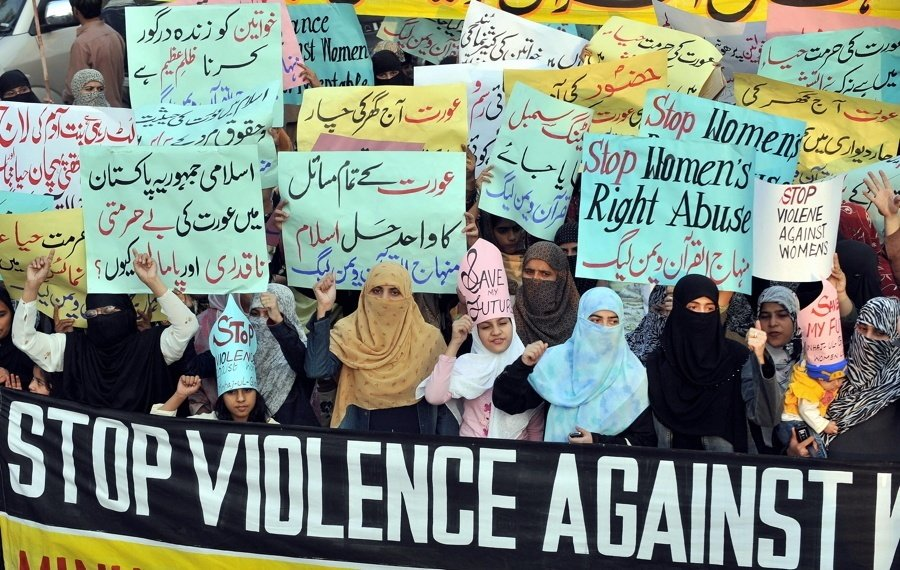 Honor Killings Pakistan Protest