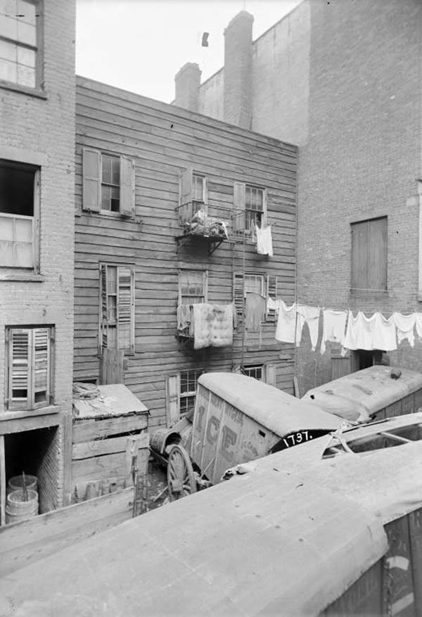 Ice Truck Tenement Building