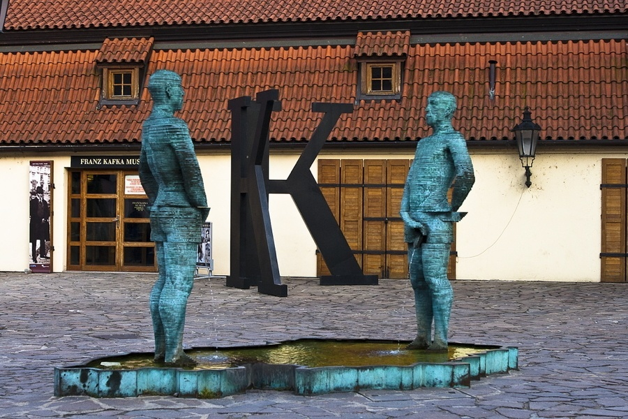 Kafka Museum Statues