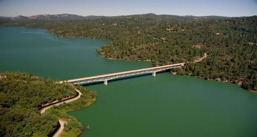 Lake Oroville Before