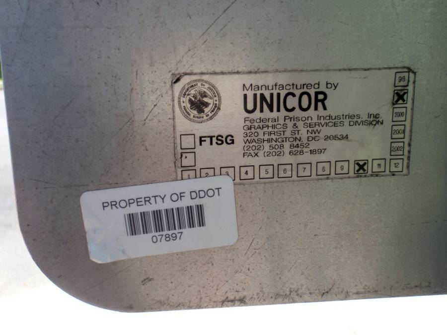 Manufactured By Unicor Label