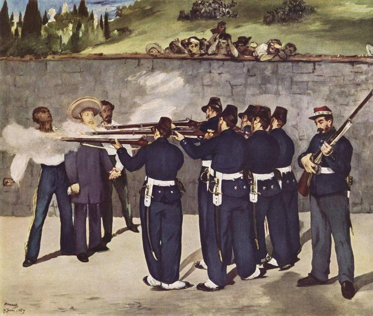 Maximillian Execution Mexico