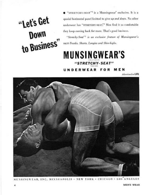 Mens Underwear Ad