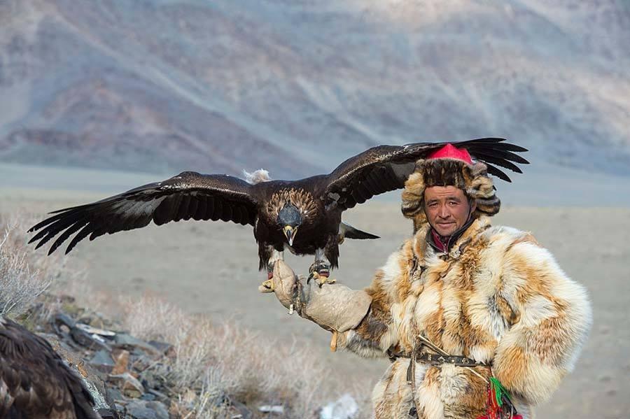 Mongolia Pose