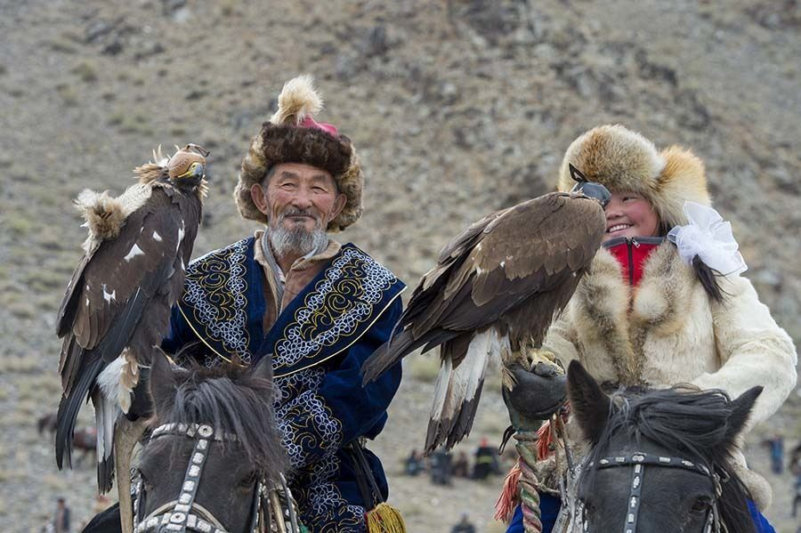 Mongolia With Child