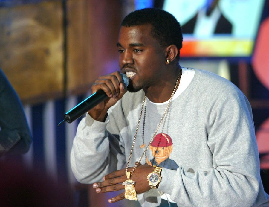 MTV TRL With J Kwon And Kanye West