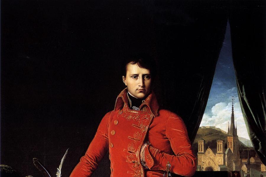 Napoleon Facts Pocket Pose