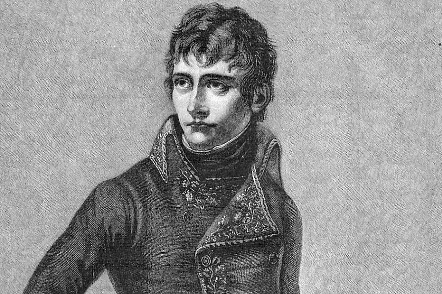 Napoleon Facts Portrait Bw