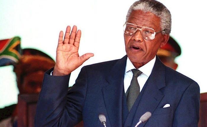 Nelson Mandela Inauguration