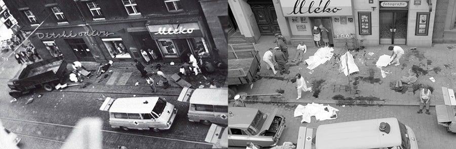 Crime Scene Of Olga Hepnarová Murders