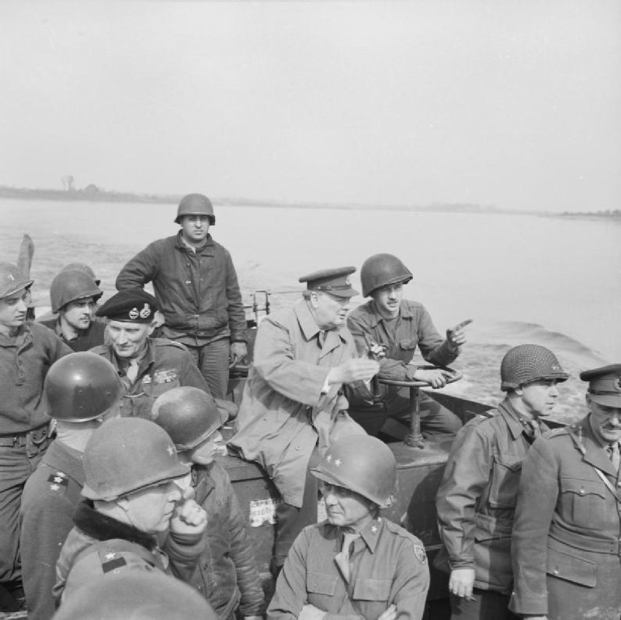 On Boat With Soldiers