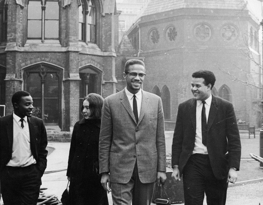 Malcolm X Smiling