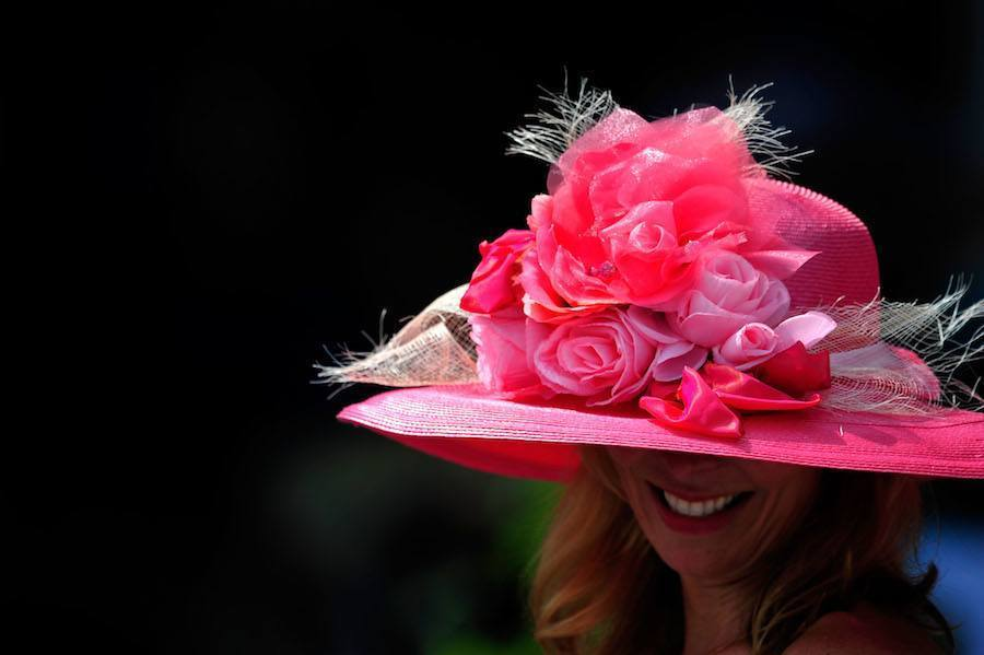 Pink Hat Kentucky Derby