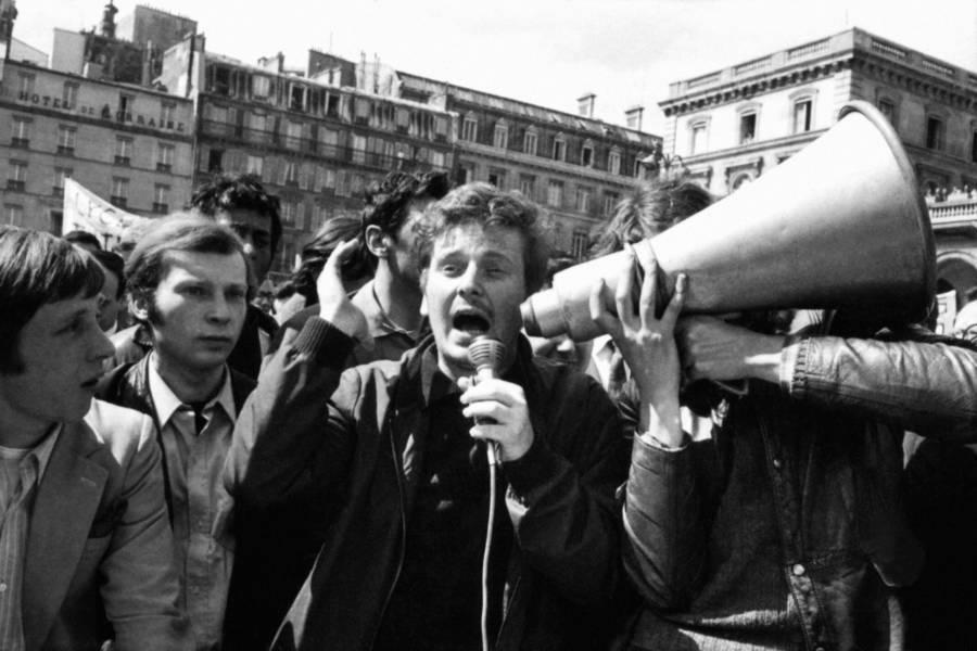 Protestors Bullhorn