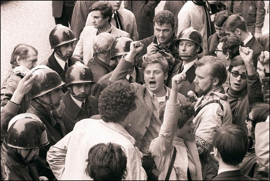 Protestors Fist