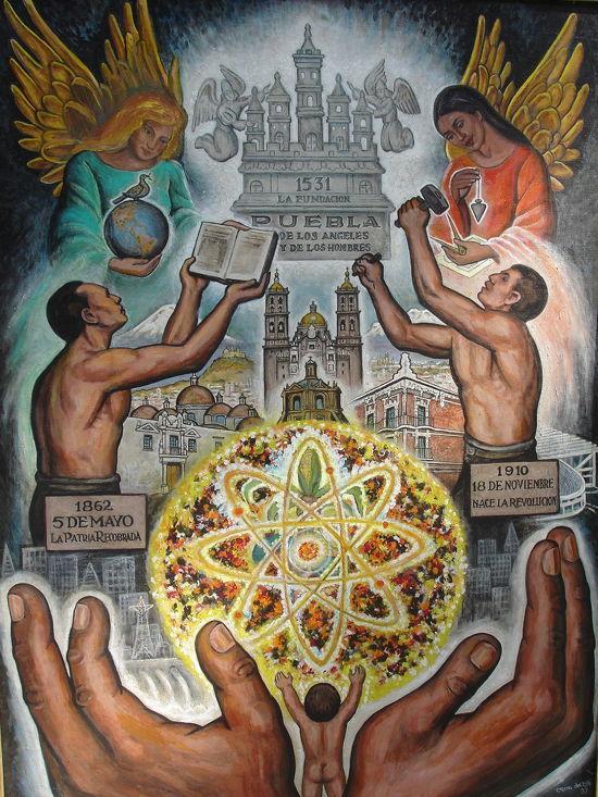 Puebla City Mural