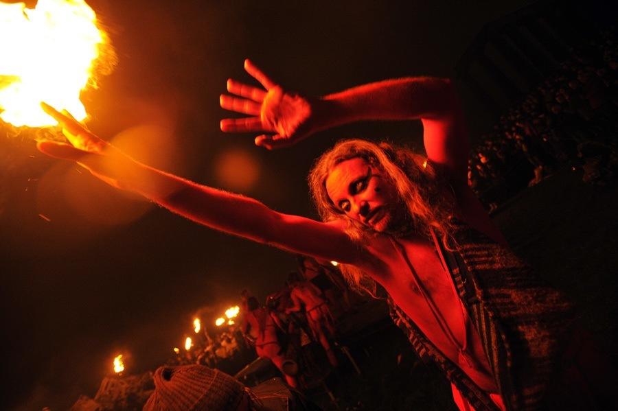 Red Man Beltane Fire Festival