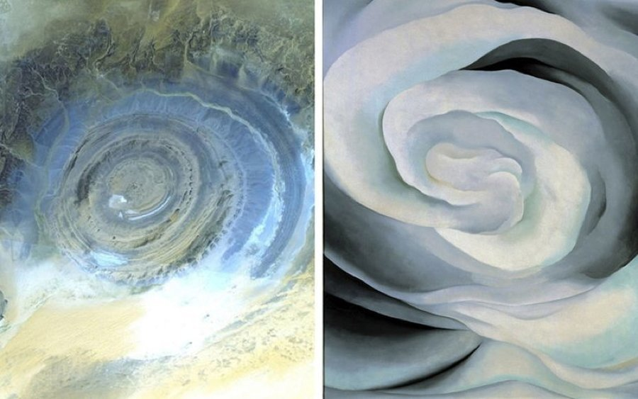 Richat Structure Mauritania Swirl