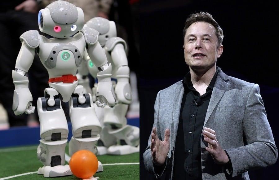 Robot Elon Musk