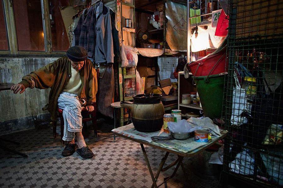 Life In Hong Kong's Cage Homes