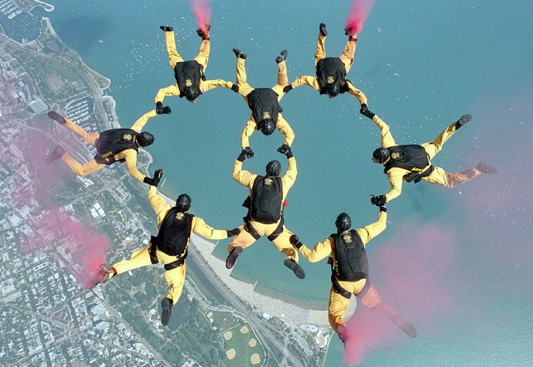 Skydiving Cinco De Mayo