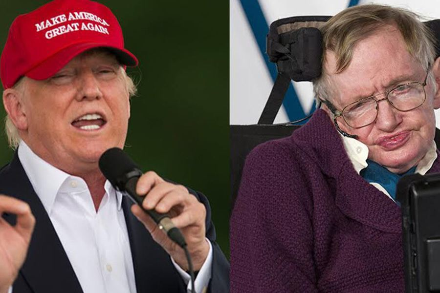 Stephen Hawking Donald Trump