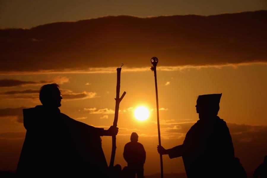 Sunset Staffs